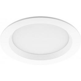 Светодиодный встраиваемый светильник, 12W 4000K IP20 230V, SD-R100