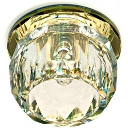 Светильник потолочный, JCD9 G9 прозрачный,желтый с лампой, JD137
