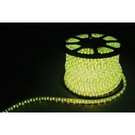 Дюралайт светодиодный LED-F3W 3-х жильный , лимонный 2,88Вт/м 72LED/м 50м 220V