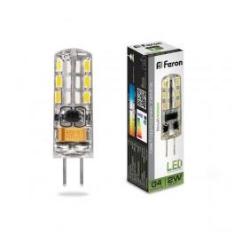 Лампа светодиодная LB-420 G4 2W 4000K