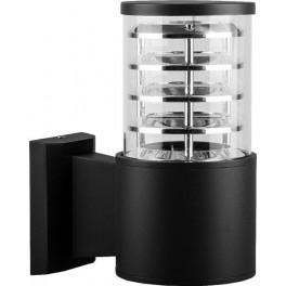 Светильник садово-парковый DH0801, Техно на стену вверх,  E27 230V, черный