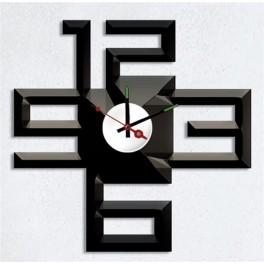 Часы-наклейка на стену NL25 с питанием от батареек
