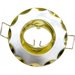 704 титан-золото MR11 /G4/ TN-GD светильник встраиваемый, цветное литье