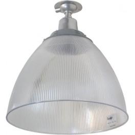"""Прожектор HL31 (16"""") купольный 60W E27 230V, серый"""
