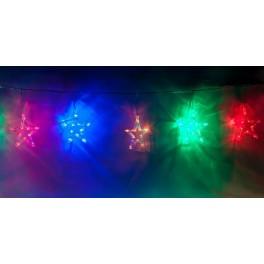 Светодиодная гирлянда CL107 фигурная 220V разноцветная c питанием от сети