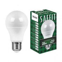 Лампа светодиодная SAFFIT SBA6525 Шар E27 25W 6400K