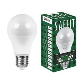 Лампа светодиодная SAFFIT SBA6010 Шар E27 10W 4000K