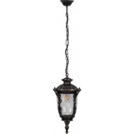 Светильник садово-парковый PL5015 круглый нацепочке 100W 230V E27, темно-коричневое золото