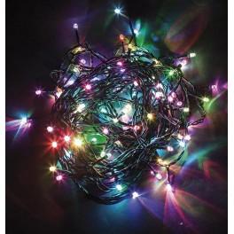 Светодиодная гирлянда CL07 линейная 24V разноцветная c питанием от сети
