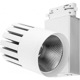 Светодиодный светильник AL105 трековый на шинопровод 30W 4000K, 35 градусов, белый