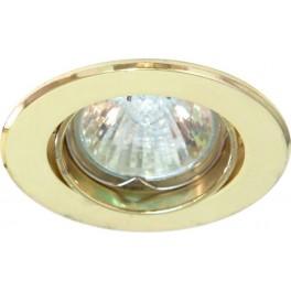 Светильник встраиваемый DL110 потолочный MR11 G4.0 золотистый