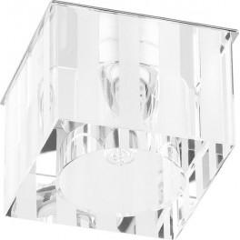 Светильник встраиваемый DL-174 потолочный JCD9 G9 прозрачно-матовый