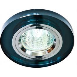 Светильник встраиваемый 8060-2 потолочный MR16 G5.3 серый