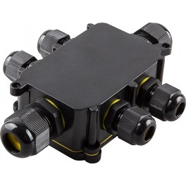 Водонепроницаемая cоединительная коробка, LD526, 450V, 140х100х36, черный
