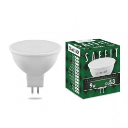 Лампа светодиодная SAFFIT SBMR1609 MR16 GU5.3 9W 6400K