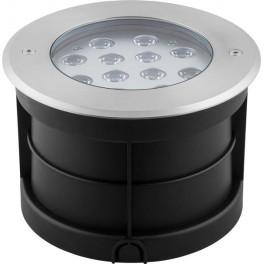 Светодиодный светильник тротуарный (грунтовый) SP4315 Lux 12W RGB 230V IP67