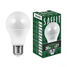 Лампа светодиодная SAFFIT SBA6020 Шар E27 20W 6400K