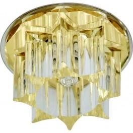 Светильник встраиваемый CD2500 потолочный JСD G9 желтый