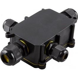 Водонепроницаемая cоединительная коробка LD524, 450V, 140х100х36, черный