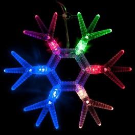 Светодиодная гирлянда CL58 фигурная 220V разноцветная c питанием от сети