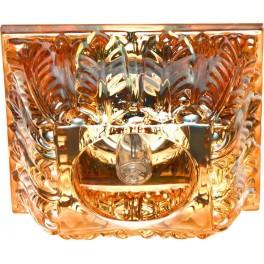 Светильник потолочный,JCD 35W 230V G9 коричневый,хром, CD2719