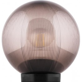 Светильник садово-парковый НТУ 02-60-255 шар ПМАА E27 230V, призма дымчатый