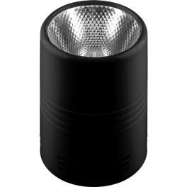 Светодиодный светильник AL518 накладной 25W 4000K черный