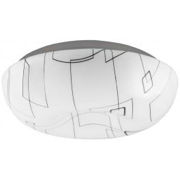 Светодиодный светильник накладной AL649 тарелка 18W 4000K белый