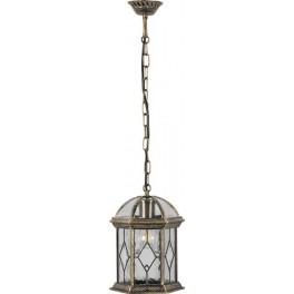 Светильник садово-парковый PL134 шестигранный на цепочке 60W E27 230V, черное золото