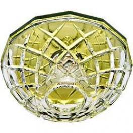 Светильник потолочный, JCD9 35W G9 с прозрачным стеклом, желтый, JD179