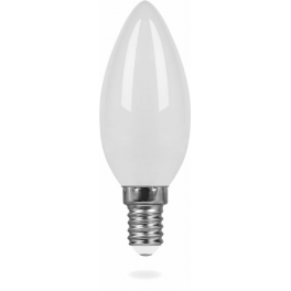 Лампа светодиодная LB-58 Свеча E14 5W 4000K