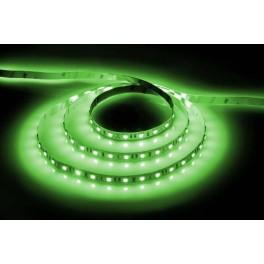 Лента светодиодная, 60SMD(5050)/м 14.4Вт/м 12V 5м зеленый на белом, LS606