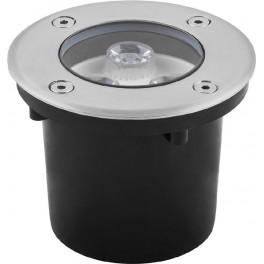 Светодиодный светильник тротуарный (грунтовый) SP4111 3W RGB 230V IP67