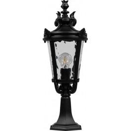 Светильник садово-парковый PL4004 круглый на постамент 60W 230V E27, черный