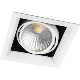 Светодиодный светильник AL211 карданный 1x30W 4000K 35 градусов ,белый