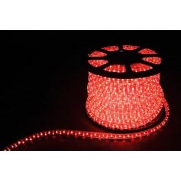 Дюралайт светодиодный LED-F3W 3-х жильный , красный 2,88Вт/м 72LED/м 50м 220V