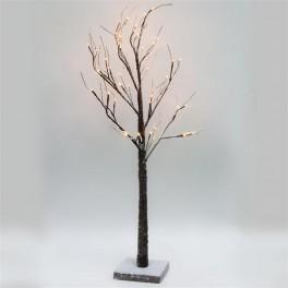 Светодиодное дерево LT043 с тёплой белой LED подсветкой от сети, высота 120 см