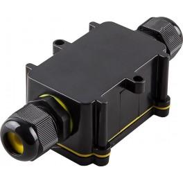Водонепроницаемая cоединительная коробка LD522, 450V, 125x55x36, черный