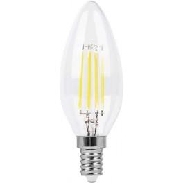 Лампа светодиодная LB-58 Свеча E14 5W 6400K