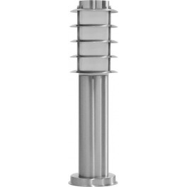 Светильник садово-парковый DH027-450, Техно столб, 18W E27 230V, серебро