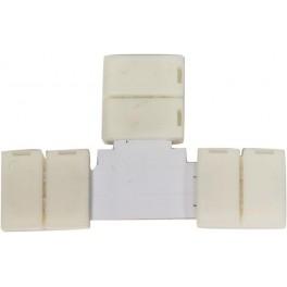 Комплект Т коннекторов  с соединителем для светодиодной ленты RGB (5050/10мм), LD189