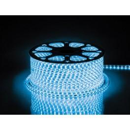 Cветодиодная LED лента LS704, 60SMD(2835)/м 4.4Вт/м  100м IP65 220V синий