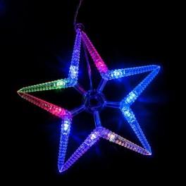 Светодиодная гирлянда CL57 фигурная 220V разноцветная c питанием от сети