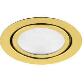 Светодиодный светильник LN7 встраиваемый 3W 4000K золотистый