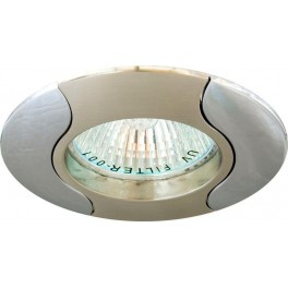 Светильник встраиваемый 020T-MR16 потолочный MR16 G5.3 титан-хром