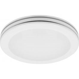 Светодиодный светильник накладной AL579 тарелка 18W 4000K белый