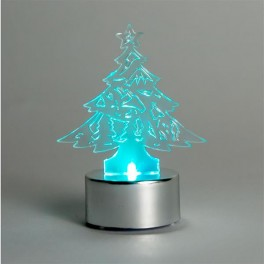 Световая фигура  3V, 1 LED, белый цвет свечения, высота: 8 см, батарейка CR2032,  IP20, LT059 артикул