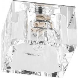Светильник встраиваемый JD62 потолочный JCD9 G9 прозрачный, хром