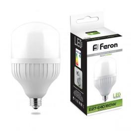 Лампа светодиодная LB-65 E27-E40 60W 4000K