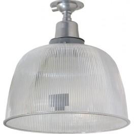 """Прожектор HL31 (12"""") купольный 60W E27 230V, серый"""